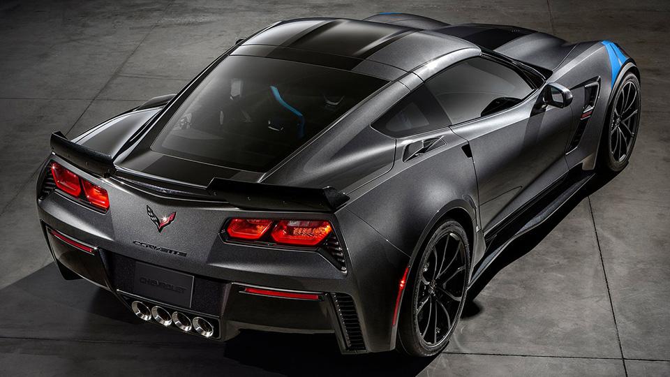 Суперкар Chevrolet получил особые колеса и технические доработки