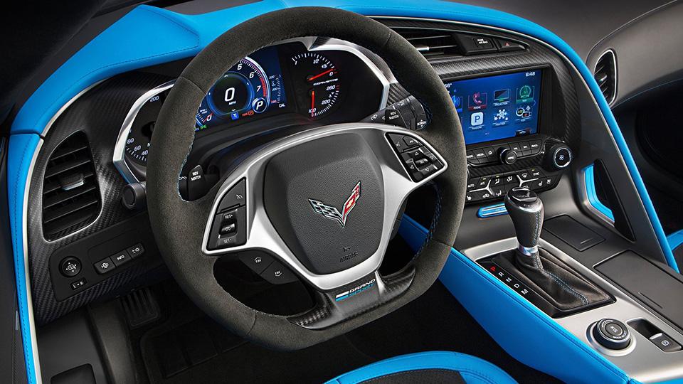 Суперкар Chevrolet получил особые колеса и технические доработки. Фото 3