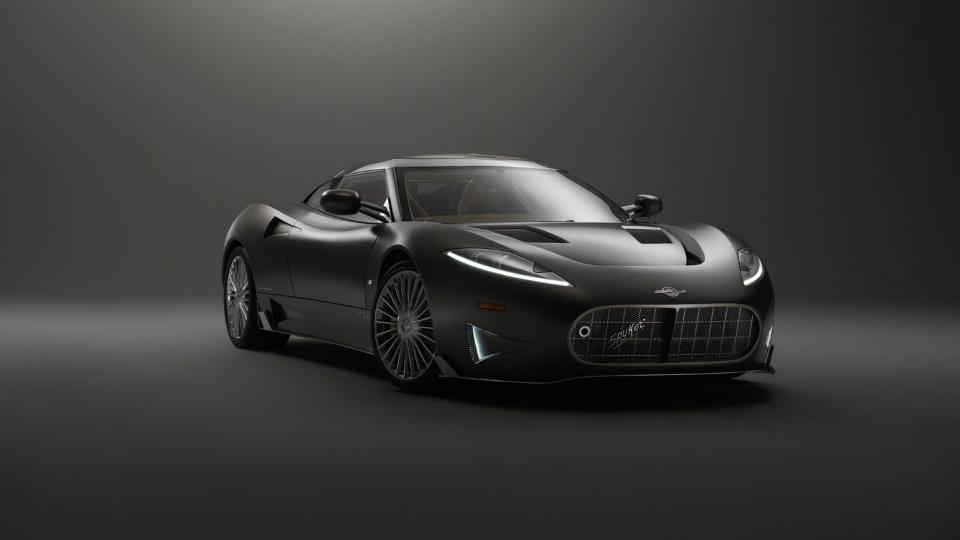 Марка Spyker вернулась после банкротства с 525-сильным купе
