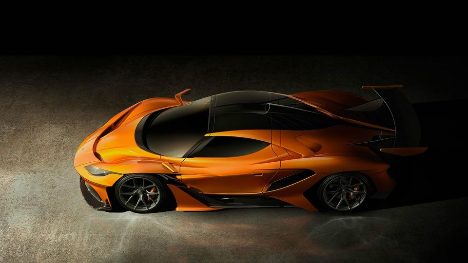 Правопреемник фирмы Gumpert привез в Женеву два новых суперкара. Фото 1