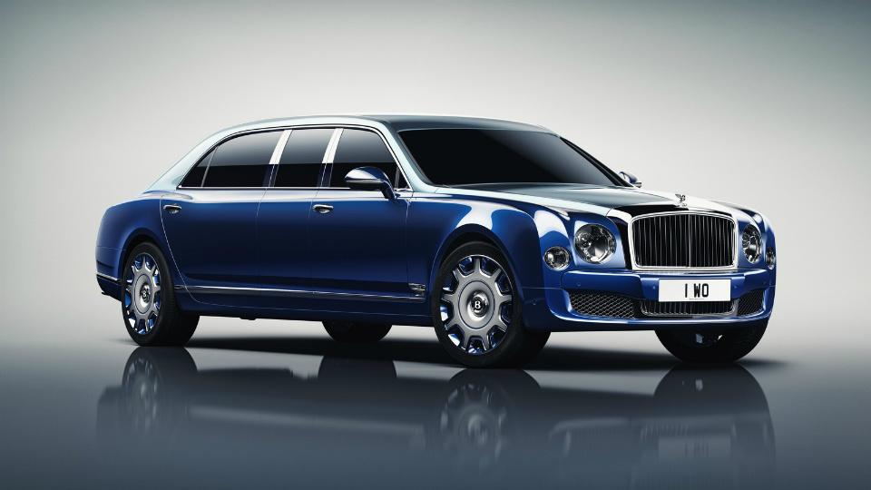 Bentley Mulsanne превратили в шестиместный лимузин