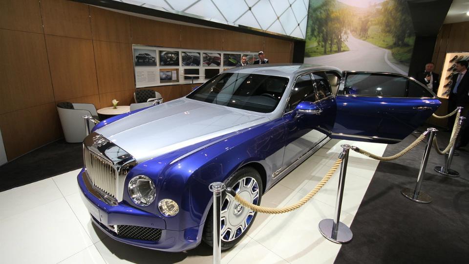Британцы построили самую роскошную версию обновленного седана