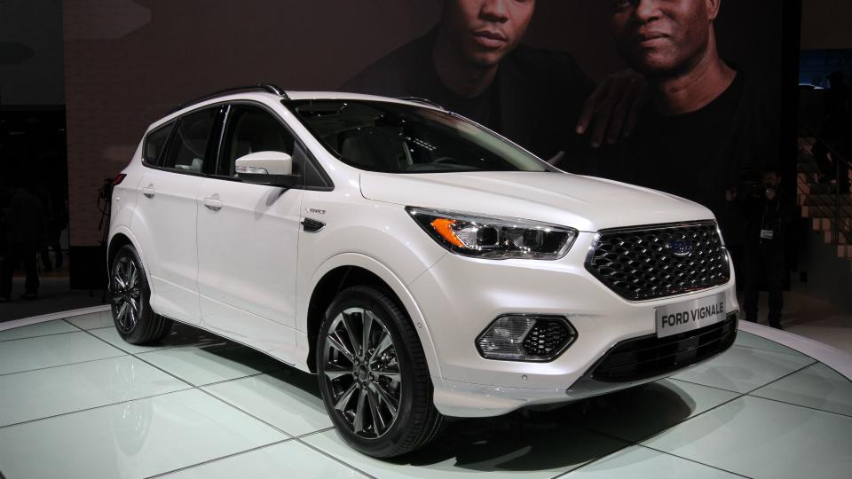 Ford добавил роскоши трем моделям