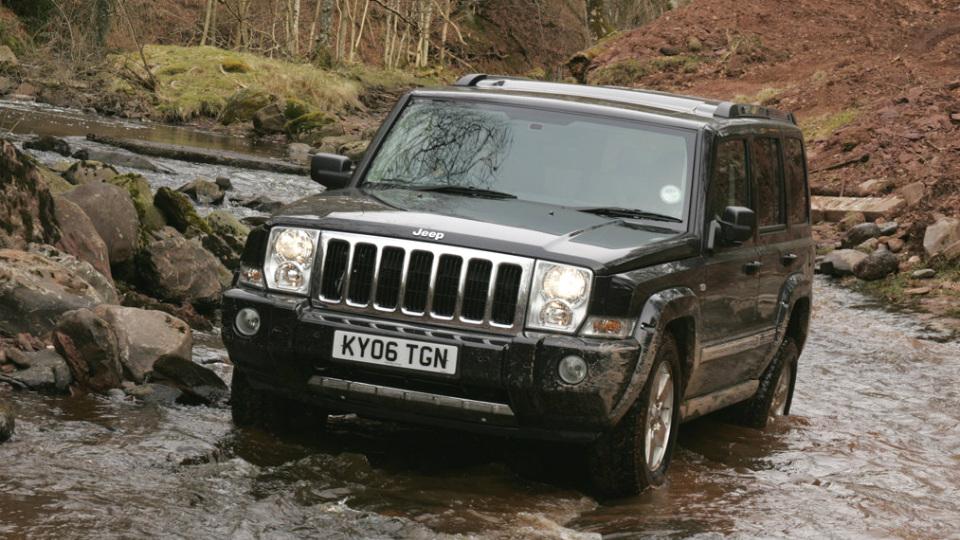 Jeep отзовет в России 2,5 тысячи внедорожников