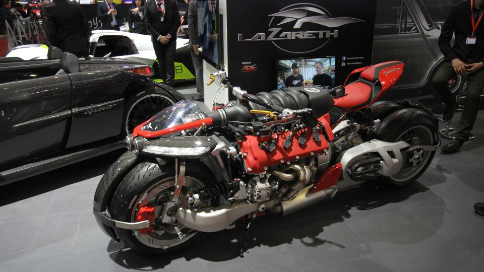 Французы построили 470-сильный мотоцикл вокруг двигателя Maserati