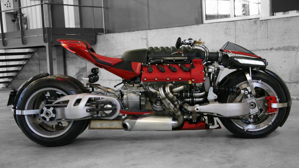 Фирма Lazareth показала в Женеве новый проект с автомобильным мотором