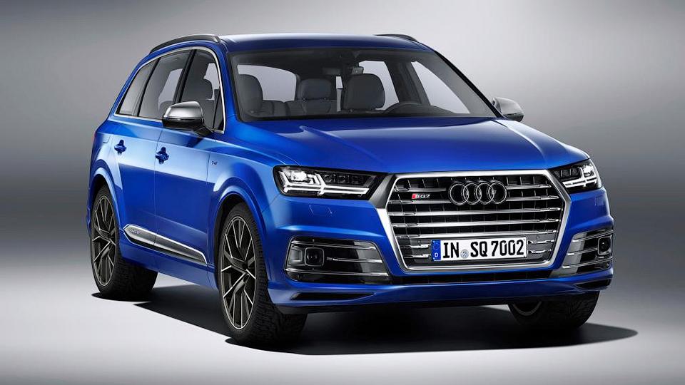 Немецкая компания официально представила модель SQ7. Фото 1