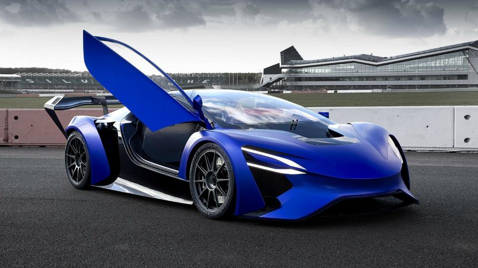 Самые крутые электрические спорткары Женевского автосалона. Фото 2