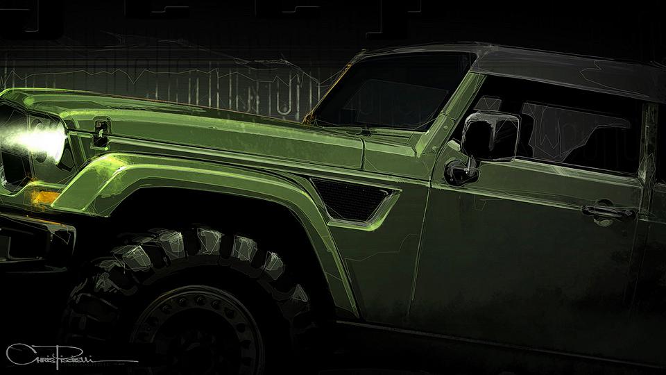 Jeep подготовит семь концептов к пасхальному сафари