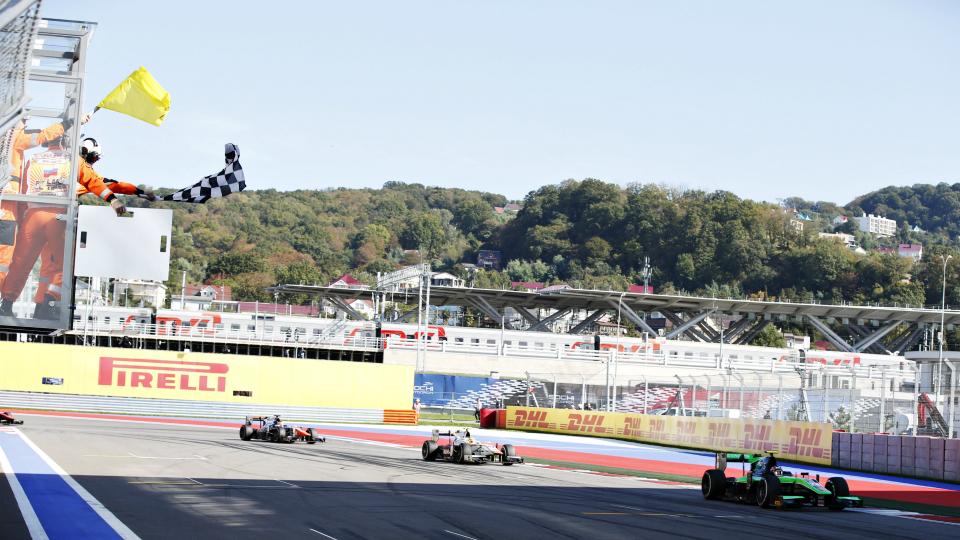 Российские этапы гоночных серий GP2 и GP3 отменены