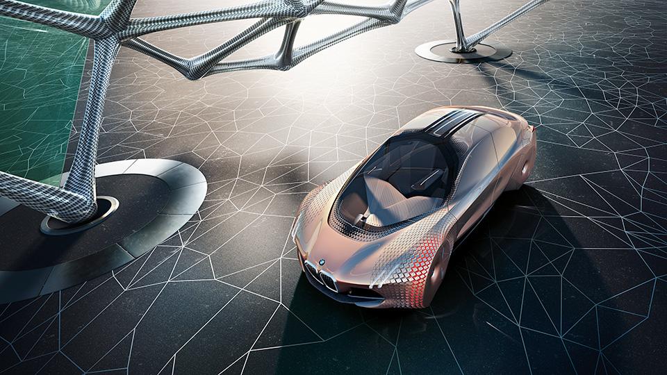 Компания BMW представила автономный концепт в честь своего столетия