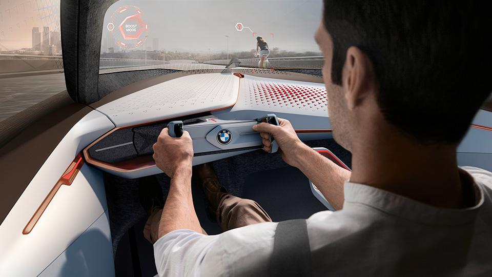 Новый прототип BMW получил подвижные элементы интерьера и экстерьера. Фото 3