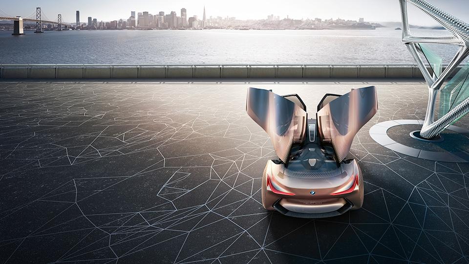 Новый прототип BMW получил подвижные элементы интерьера и экстерьера