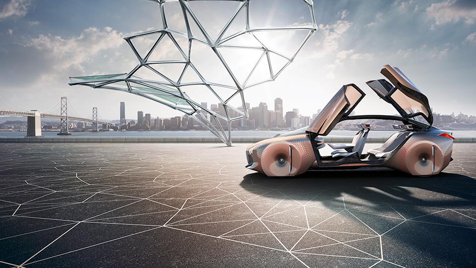 Новый прототип BMW получил подвижные элементы интерьера и экстерьера. Фото 1