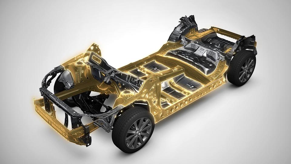 Фирма Subaru разработала модульное шасси