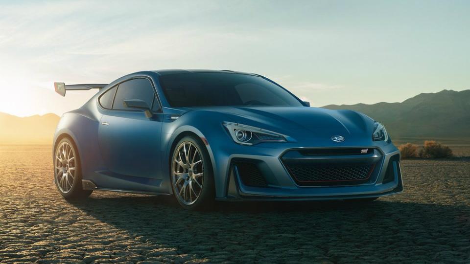 Subaru разработает среднемоторный спорткар
