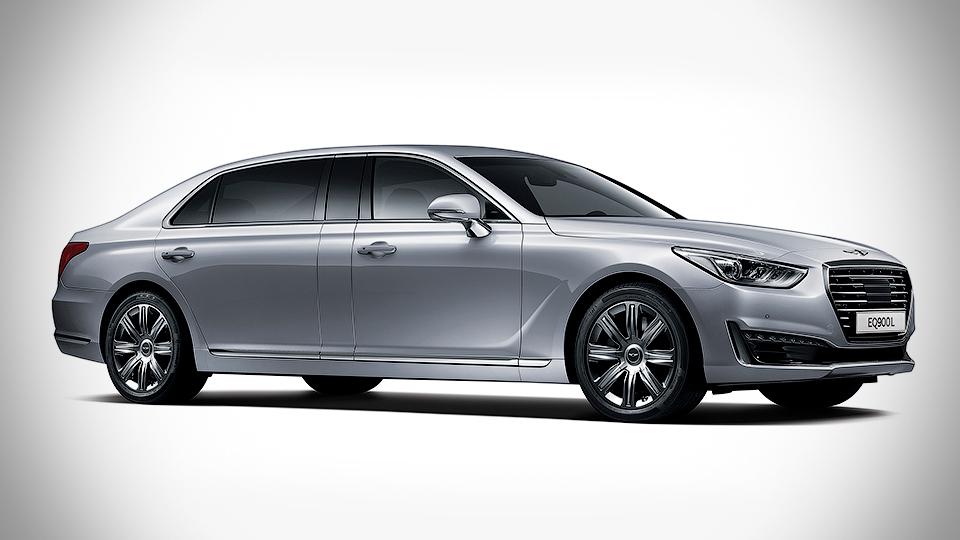 Самый роскошный седан Hyundai превратился в лимузин
