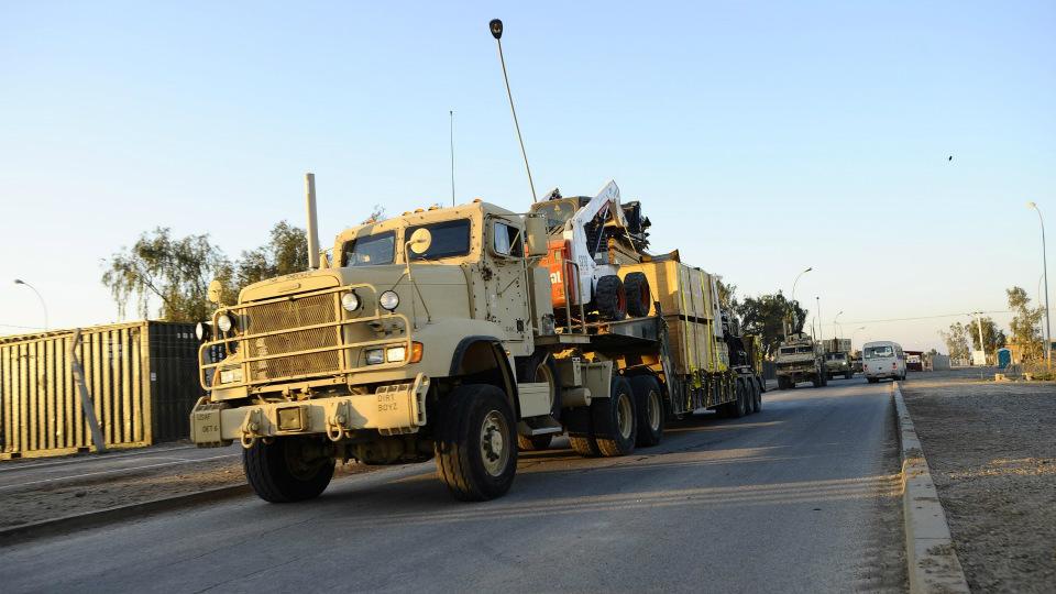 Армия США испытает беспилотные грузовики на общих дорогах