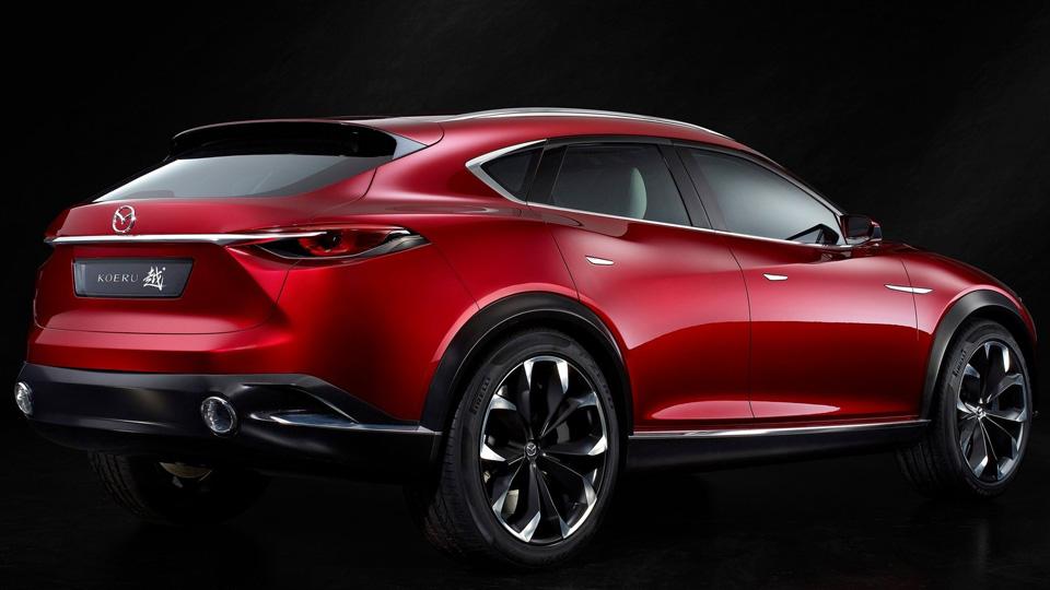 Новый кроссовер Mazda оказался моделью для Китая