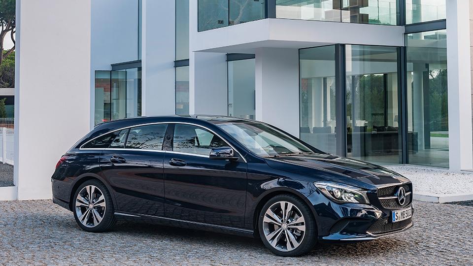 Mercedes-Benz обновил семейство CLA
