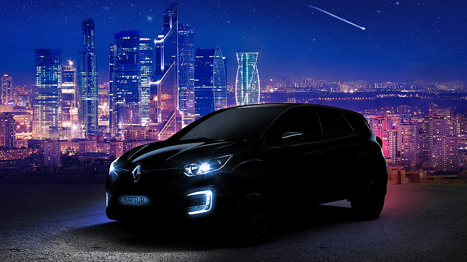 Компания Renault показала первую фотографию кроссовера для России