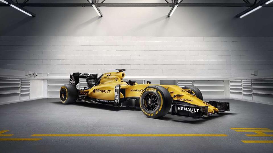 Команда Формулы-1 Renault показала раскраску болида