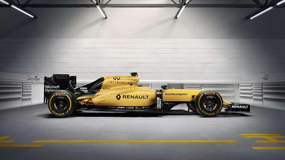 В Renault вернулись к классическому желтому цвету машины