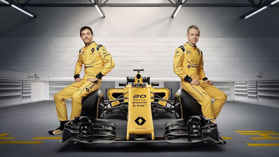 В Renault вернулись к классическому желтому цвету машины. Фото 1