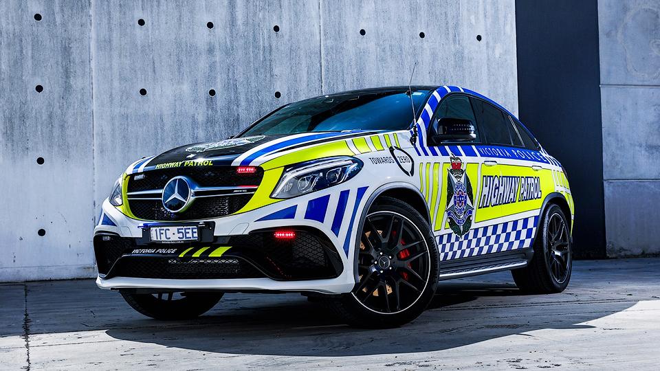 Австралийская полиция получила 585-сильный кроссовер «Мерседес»