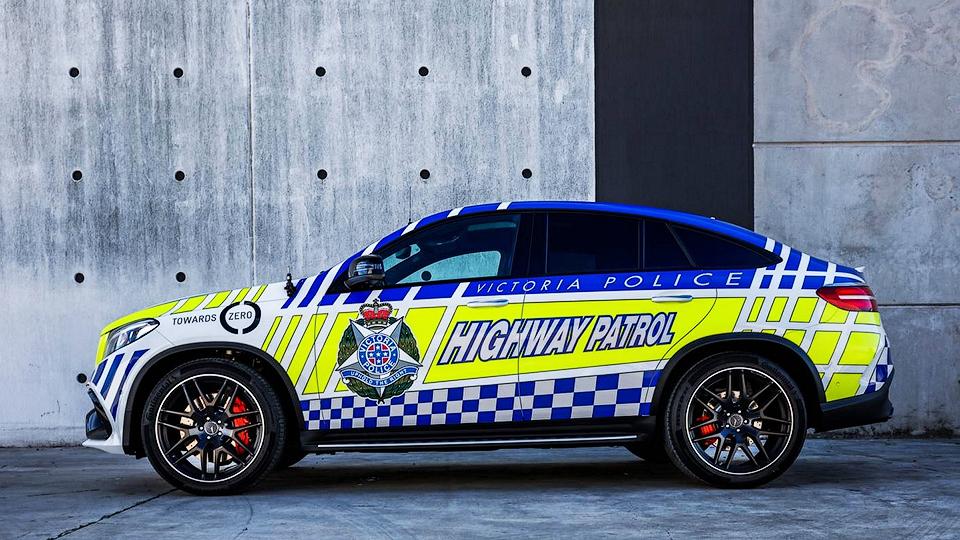 Компания Mercedes-Benz предоставила полиции модель GLE 63 S Coupe