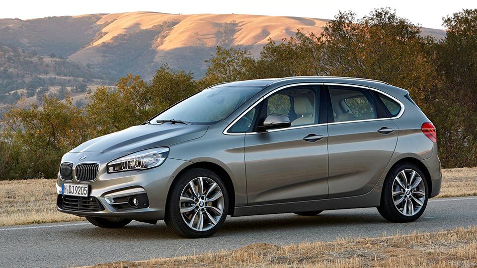 Компактвэны BMW оказались вдвое популярнее купе и кабриолетов 2-Series