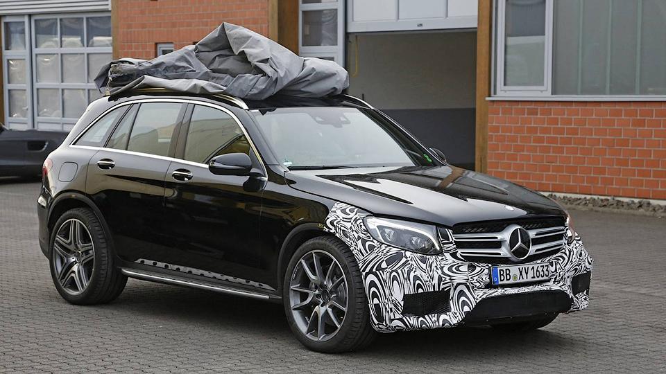 Шпионы сфотографировали самый мощный Mercedes-Benz GLC