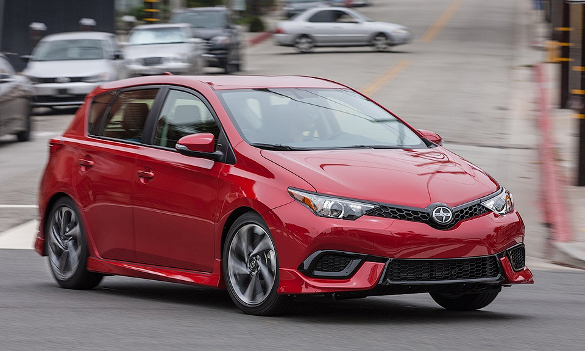Тойота объявила новые названия моделей Scion