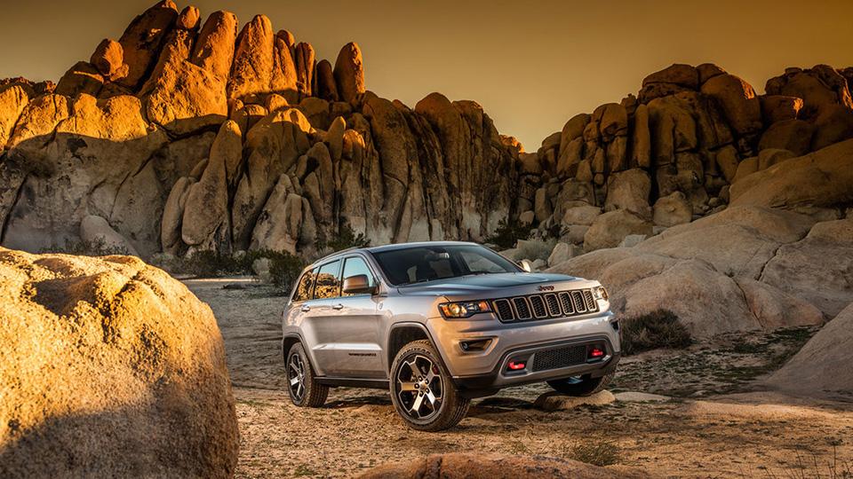 У Jeep Grand Cherokee появится версия для бездорожья