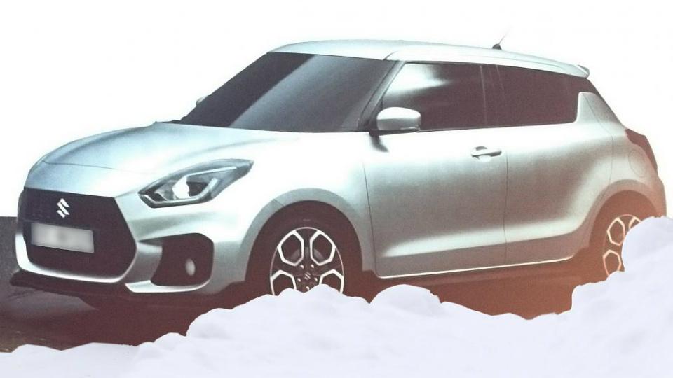В Сети показали дизайн нового Suzuki Swift