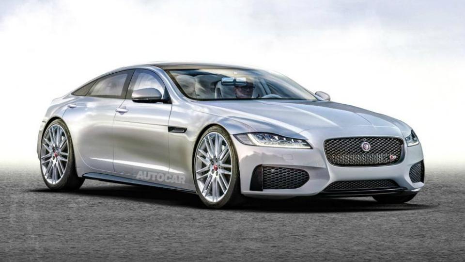 Новый Jaguar XJ станет сверхроскошным гибридом