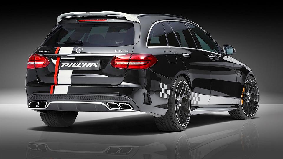 Ателье Piecha Design представило проект доработок для Mercedes-AMG C63 S