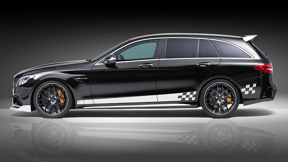 Ателье Piecha Design представило проект доработок для Mercedes-AMG C63 S. Фото 1