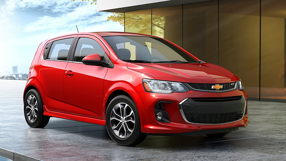 Американский вариант Chevrolet Aveo обновился