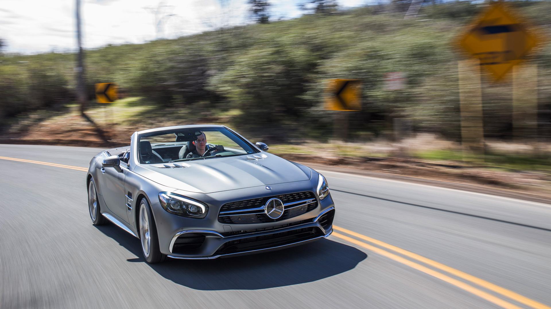 Мы прокатились на всех модификациях нового Mercedes SL. Фото 3