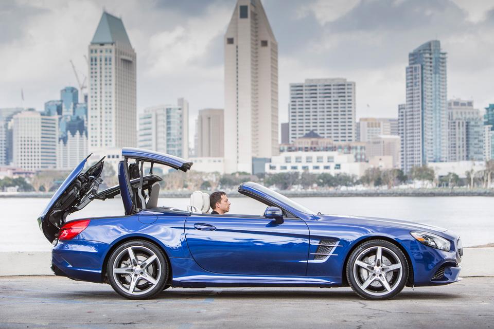 Мы прокатились на всех модификациях нового Mercedes SL. Фото 2