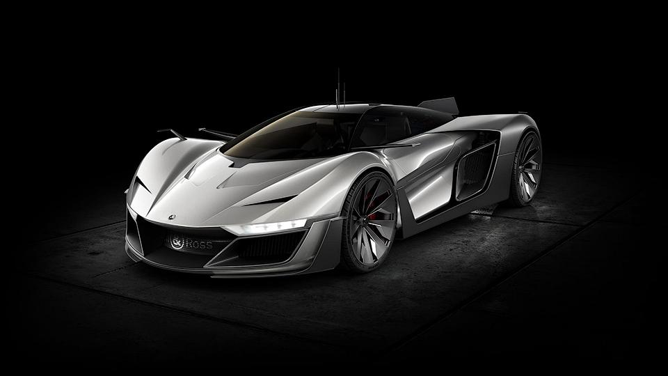 Французские часовщики построили суперкар