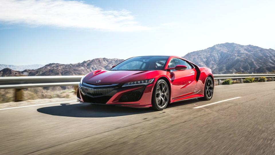 Acura NSX станет самой дорогой машиной американского производства