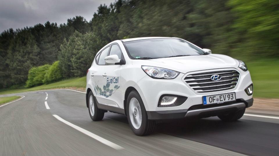 Новая водородная модель Hyundai появится в 2017 году