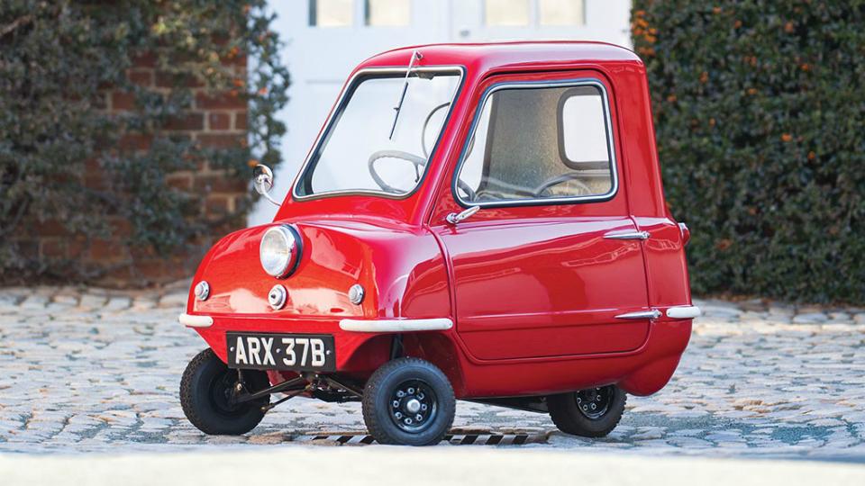 Самую маленькую машину в мире продали за 176 тысяч долларов