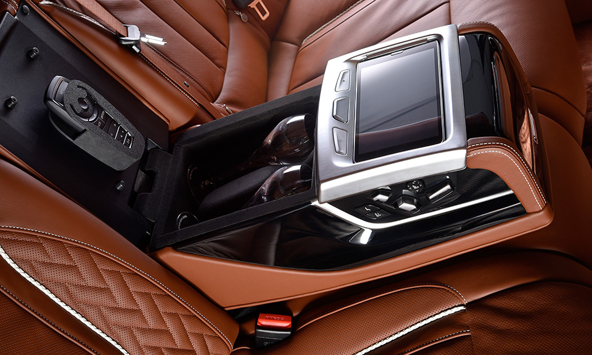 Над 7-Series поработали специалисты BMW Individual Manufactory
