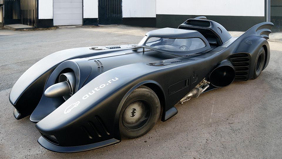 В России выставят на продажу Бэтмобиль за миллион евро