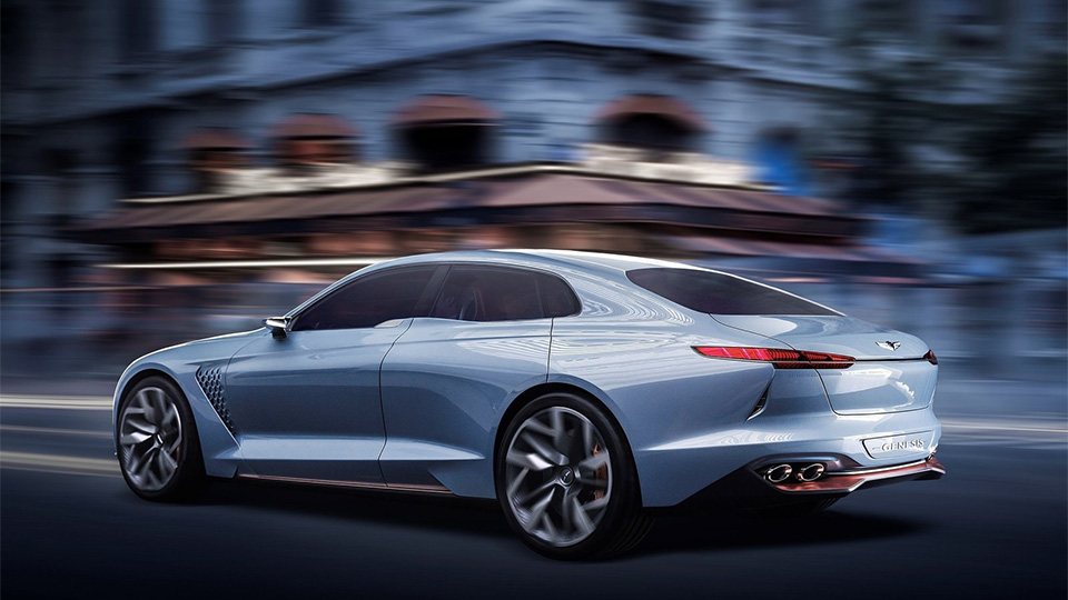 Марка Genesis представила концептуальный седан New York Concept