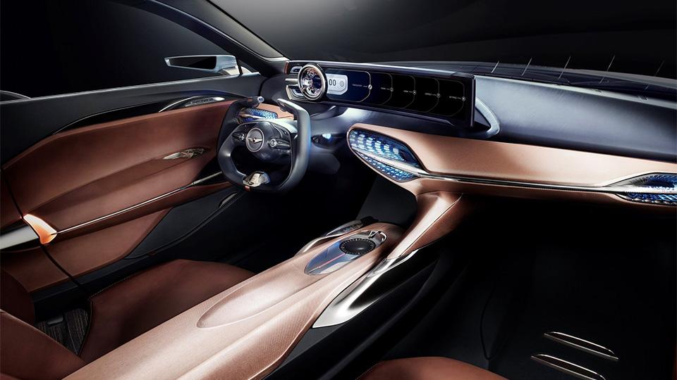 Марка Genesis представила концептуальный седан New York Concept. Фото 2