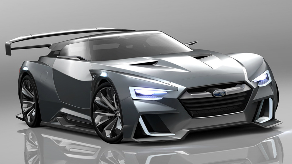 В «Субару» опровергли разработку среднемоторного спорткара